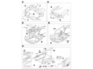 Aoshima - Lamborghini Aventador LP700-4 Roadster, Mastelis: 1/24, 00865 20
