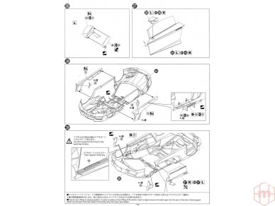 Aoshima - Lamborghini Aventador LP700-4 Roadster, Scale: 1/24, 00865 21