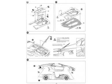 Aoshima - Lamborghini Aventador LP700-4 Roadster, Scale: 1/24, 00865 22