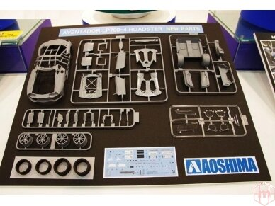 Aoshima - Lamborghini Aventador LP700-4 Roadster, Mastelis: 1/24, 00865 4