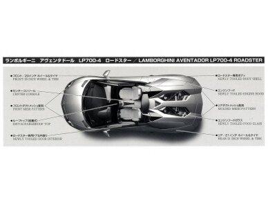 Aoshima - Lamborghini Aventador LP700-4 Roadster, Scale: 1/24, 00865 6