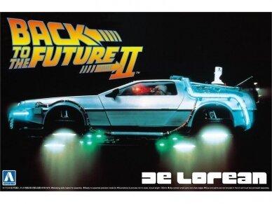 Aoshima - Back to the Future II Delorean, Scale: 1/24, 05917