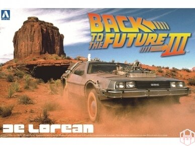 Aoshima - Back to the Future III Delorean, Mastelis: 1/24, 01187
