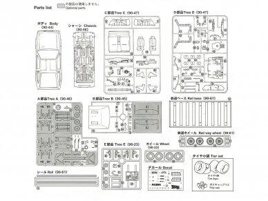 Aoshima - Back to the Future III Delorean, Mastelis: 1/24, 01187 4