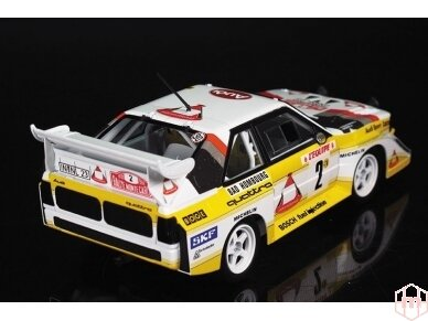 Beemax - Audi Sport Quattro S1 E2 Monte Carlo Rally 1986 with PE, Scale: 1/24, B24017, E24017 4