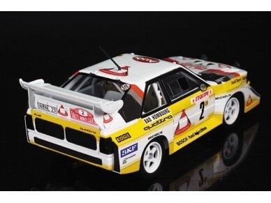 Beemax - Audi Sport Quattro S1 E2 Monte Carlo Rally 1986, Scale: 1/24, B24017 3