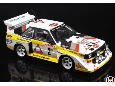 Beemax - Audi Sport Quattro S1 E2 Monte Carlo Rally 1986, Scale: 1/24, B24017 2