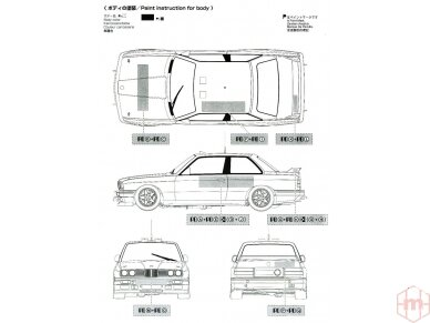 Beemax - BMW M3 E30 '89 Tour de Corse, Mastelis: 1/24, 10506, 24016 11