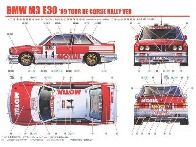 Beemax - BMW M3 E30 '89 Tour de Corse, Mastelis: 1/24, 10506, 24016 12