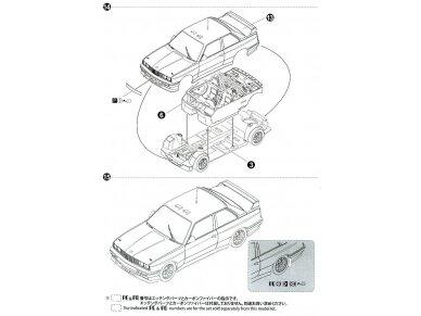 Beemax - BMW M3 E30 '89 Tour de Corse, Mastelis: 1/24, 10506, 24016 19
