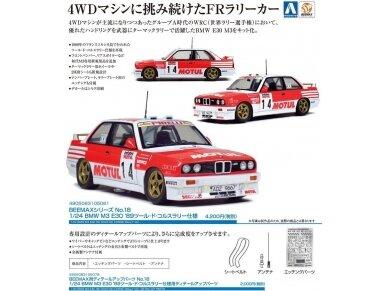 Beemax - BMW M3 E30 '89 Tour de Corse, Mastelis: 1/24, 10506, 24016 5