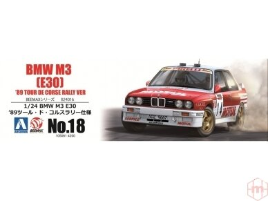 Beemax - BMW M3 E30 '89 Tour de Corse, Mastelis: 1/24, 10506, 24016 6