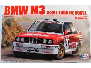 Beemax - BMW M3 E30 '89 Tour de Corse, Mastelis: 1/24, 10506, 24016