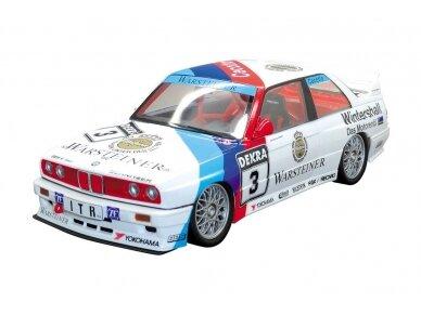 Aoshima Beemax - BMW M3 (E30) `91 Deutschland Model, Scale: 1/24, 09819 2
