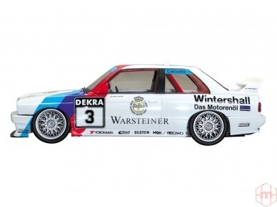 Aoshima Beemax - BMW M3 (E30) `91 Deutschland Model, Scale: 1/24, 09819 4