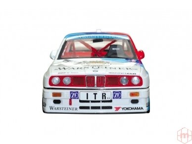 Aoshima Beemax - BMW M3 (E30) `91 Deutschland Model, Scale: 1/24, 09819 5