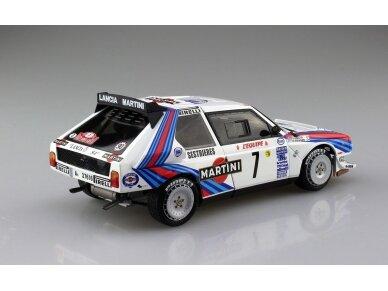 Aoshima Beemax - Lancia Delta S4 Monte Carlo Rally 1986, Mastelis: 1/24, 09885, 24020 3