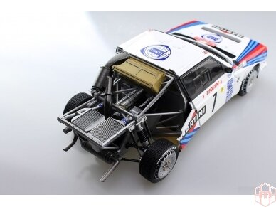 Aoshima Beemax - Lancia Delta S4 Monte Carlo Rally 1986, Mastelis: 1/24, 09885, 24020 14