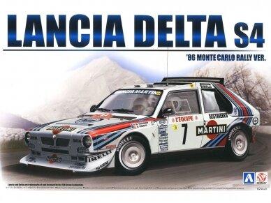 Aoshima Beemax - Lancia Delta S4 Monte Carlo Rally 1986, Scale: 1/24, 09885, 24020