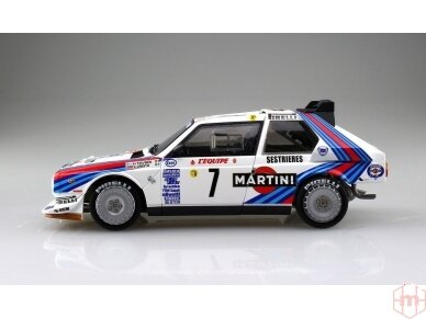 Aoshima Beemax - Lancia Delta S4 Monte Carlo Rally 1986, Mastelis: 1/24, 09885, 24020 4