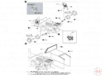 Aoshima Beemax - Lancia Delta S4 Monte Carlo Rally 1986, Mastelis: 1/24, 09885, 24020 28
