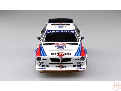 Aoshima Beemax - Lancia Delta S4 Monte Carlo Rally 1986, Mastelis: 1/24, 09885, 24020 5