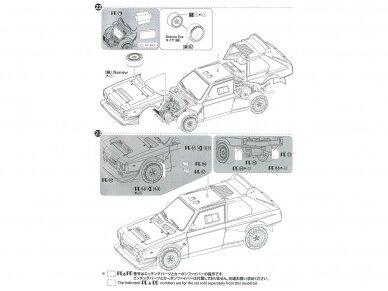 Aoshima Beemax - Lancia Delta S4 Monte Carlo Rally 1986, Scale: 1/24, 09885, 24020 39