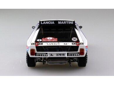 Aoshima Beemax - Lancia Delta S4 Monte Carlo Rally 1986, Mastelis: 1/24, 09885, 24020 6