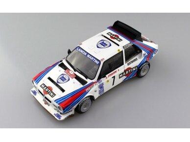 Aoshima Beemax - Lancia Delta S4 Monte Carlo Rally 1986, Mastelis: 1/24, 09885, 24020 7