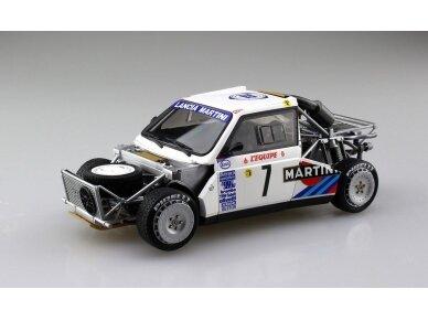 Aoshima Beemax - Lancia Delta S4 Monte Carlo Rally 1986, Mastelis: 1/24, 09885, 24020 8