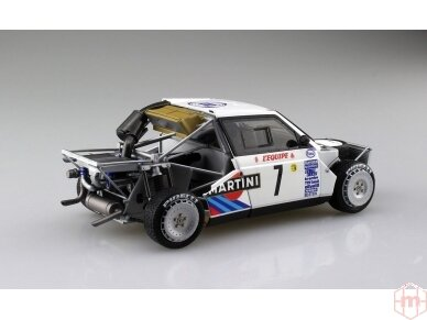 Aoshima Beemax - Lancia Delta S4 Monte Carlo Rally 1986, Mastelis: 1/24, 09885, 24020 9