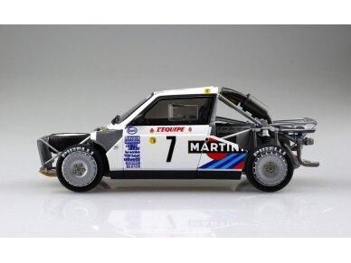 Aoshima Beemax - Lancia Delta S4 Monte Carlo Rally 1986, Mastelis: 1/24, 09885, 24020 10