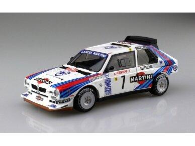 Aoshima Beemax - Lancia Delta S4 Monte Carlo Rally 1986, Mastelis: 1/24, 09885, 24020 2