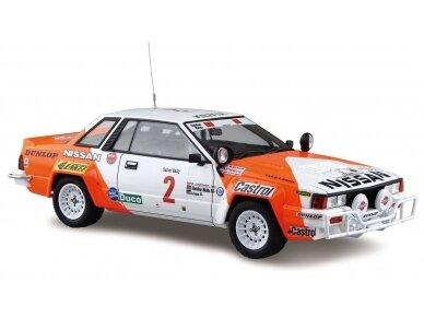 Aoshima Beemax - Nissan 240RS BS110 `84 Safari Rally, Mastelis: 1/24, 10433, 24014 2