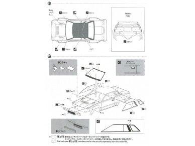 Aoshima Beemax - Nissan 240RS BS110 `84 Safari Rally, Mastelis: 1/24, 10433, 24014 19