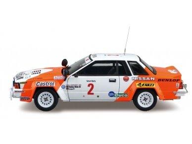 Aoshima Beemax - Nissan 240RS BS110 `84 Safari Rally, Mastelis: 1/24, 10433, 24014 3