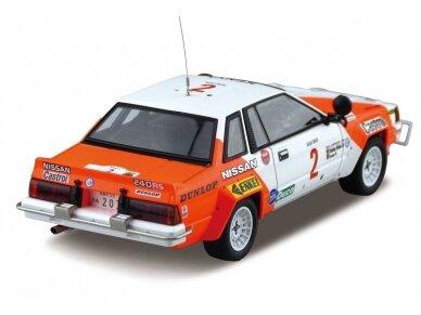 Aoshima Beemax - Nissan 240RS BS110 `84 Safari Rally, Mastelis: 1/24, 10433, 24014 4