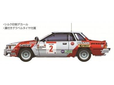 Aoshima Beemax - Nissan 240RS BS110 `84 Safari Rally, Mastelis: 1/24, 10433, 24014 5