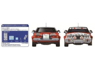 Aoshima Beemax - Nissan 240RS BS110 `84 Safari Rally, Mastelis: 1/24, 10433, 24014 6