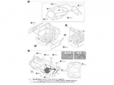 Aoshima Beemax - Porsche 935 K2 `77 DRM Ver., Mastelis: 1/24, 10510, 24015 17