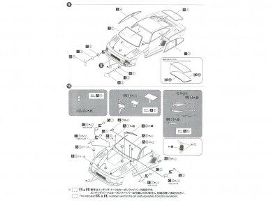Aoshima Beemax - Porsche 935 K2 `77 DRM Ver., Mastelis: 1/24, 10510, 24015 18
