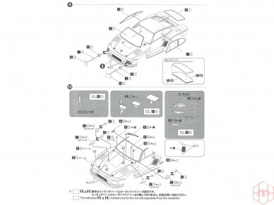 Beemax - Porsche 935 K2 `77 DRM Ver., Mastelis: 1/24, 24015 18