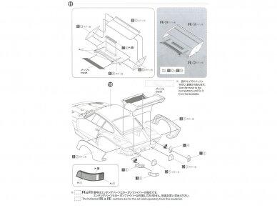 Aoshima Beemax - Porsche 935 K2 `77 DRM Ver., Mastelis: 1/24, 10510, 24015 19