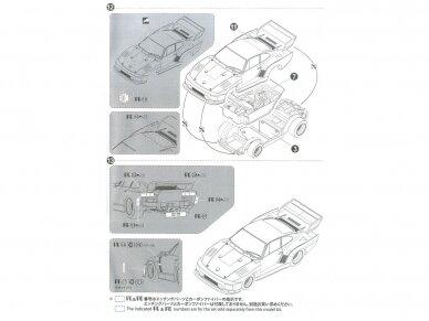 Aoshima Beemax - Porsche 935 K2 `77 DRM Ver., Mastelis: 1/24, 10510, 24015 20