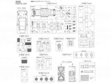 Aoshima Beemax - Porsche 935 K2 `77 DRM Ver., Mastelis: 1/24, 10510, 24015 21