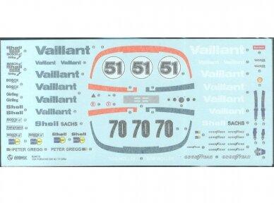 Aoshima Beemax - Porsche 935 K2 `77 DRM Ver., Mastelis: 1/24, 10510, 24015 10