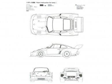Beemax - Porsche 935 K2 `77 DRM Ver., Mastelis: 1/24, 24015 12