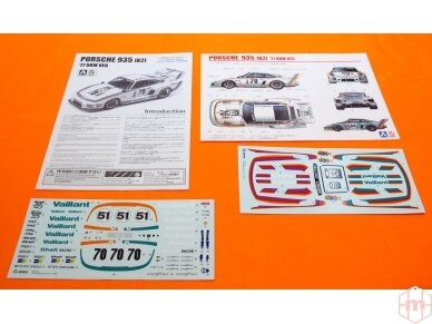 Aoshima Beemax - Porsche 935 K2 `77 DRM Ver., Mastelis: 1/24, 10510, 24015 5