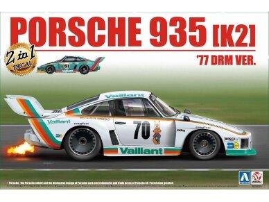 Aoshima Beemax - Porsche 935 K2 `77 DRM Ver., Mastelis: 1/24, 10510, 24015
