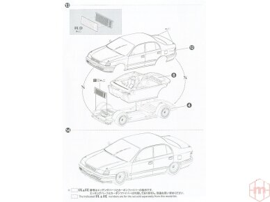 Beemax - Toyota Corona [ST191] 94' JTCC, Mastelis: 1/24, 24013 19